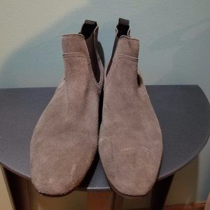 Public Opinion Nordstrom Gray Suede Chelsea Boot 9